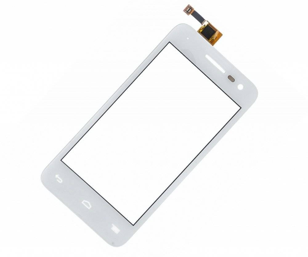 Тачскрин (сенсор) для Alcatel Pop S3 (5050X) (белый)