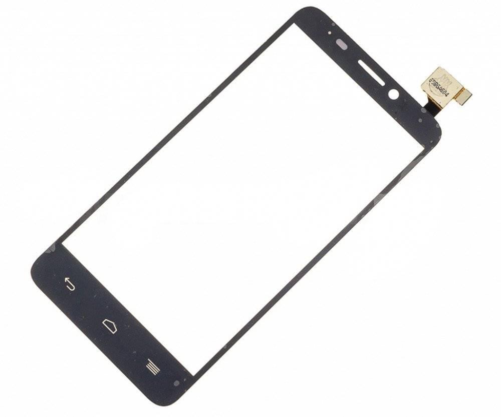 Тачскрин (сенсор) для Alcatel Idol 2 mini S (6036Y) (черный)