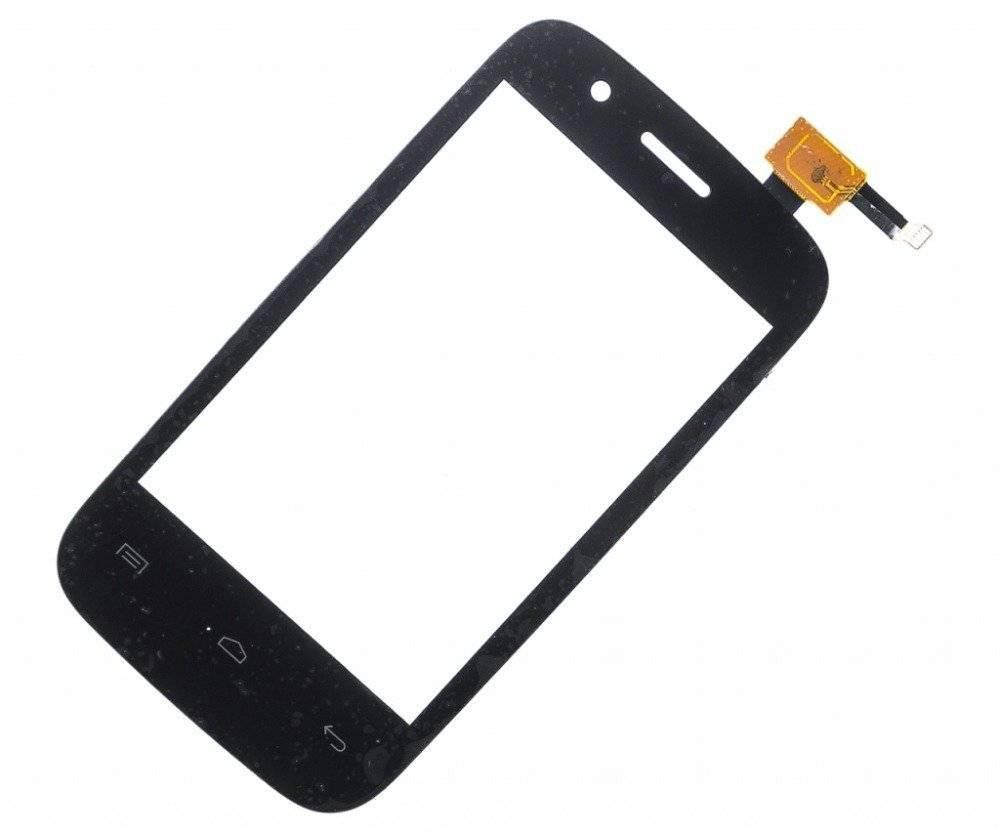 Тачскрин (сенсор) для Explay N1 (черный)