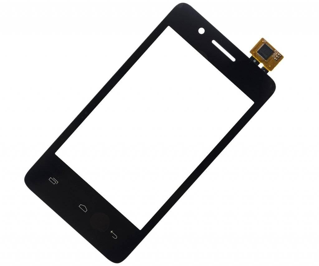 Тачскрин (сенсор) для Fly Era Nano 3 (IQ436) (черный)
